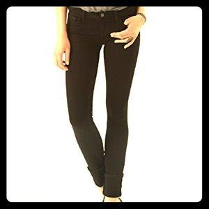 J Brand Black Pencil Leg Jean Size 27